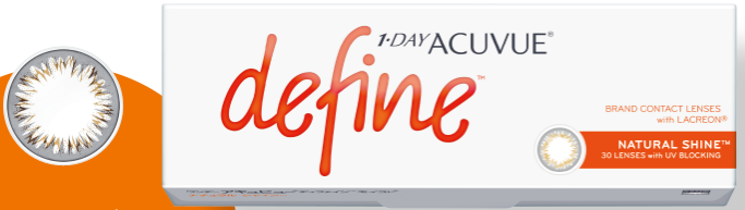 ACUVUE define Daily contact lenses 30 pieces-detail-image1