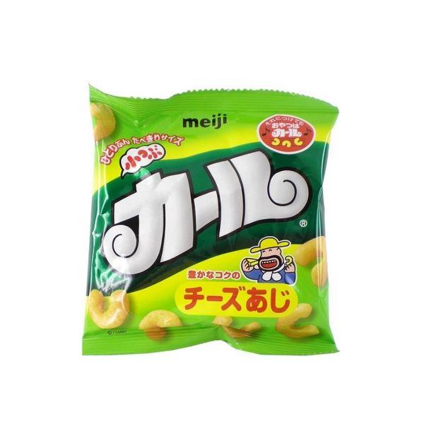 meiji明治小つぶカール小腰果玉米零食14g×10個-详情-图片1