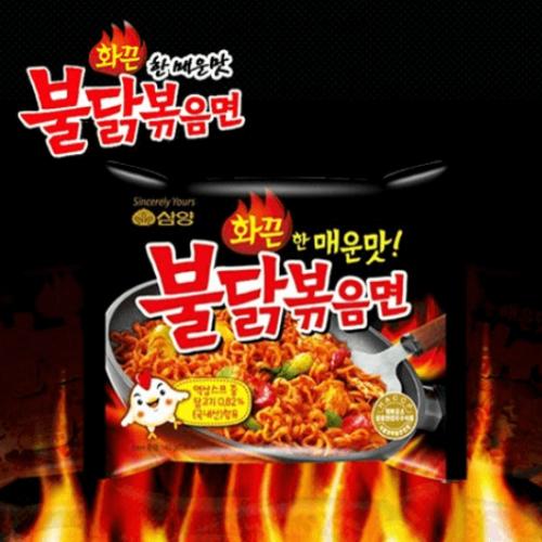Samyang Ramen / Spicy Chicken Roasted Noodles 140g K-detail-image1