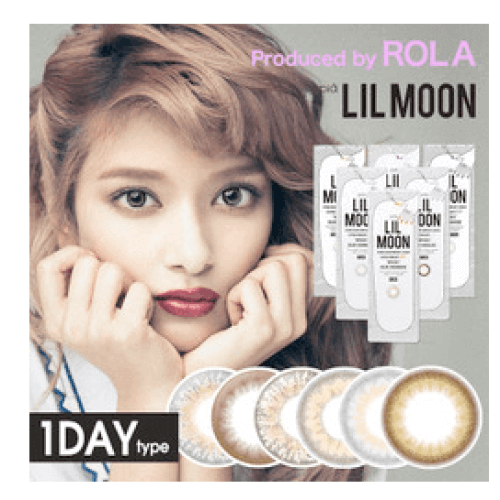 Produced by ROLA LILMOON 1DAY contact lenses 10sheets-detail-image1