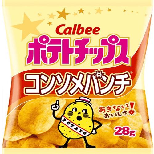 日本Calbee卡樂比薯片 蜂蜜黃油味/原味/法式沙拉味-詳情-圖片1