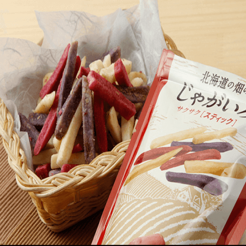 北海道サクサク三色松脆薯条 50g-详情-图片1