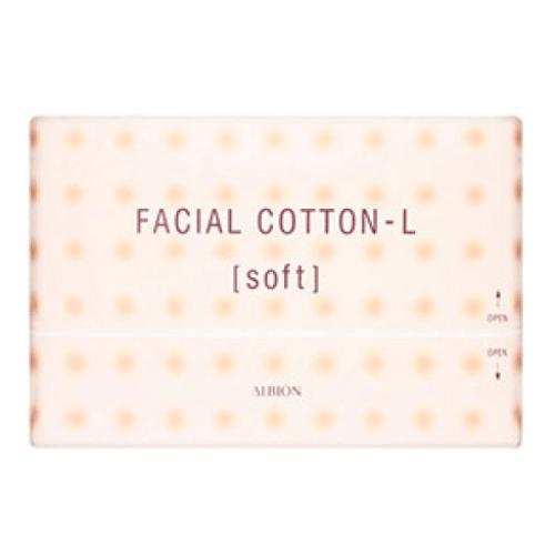 Albion facial cotton L (soft) 120 piece-detail-image1