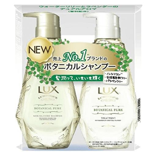 LUX力士植物性洗发水护发素套装各450g-详情-图片1