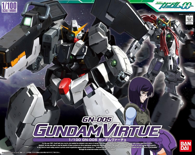 Mobile Suit Gundam 00 Gundam Virtue Bandai Spirits Bandai 1 100 Plastic Model Japan Online Shopping Hommi