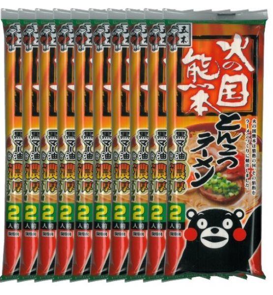 熊本九州猪骨汤即食方便袋装拉面条4种选-详情-图片1