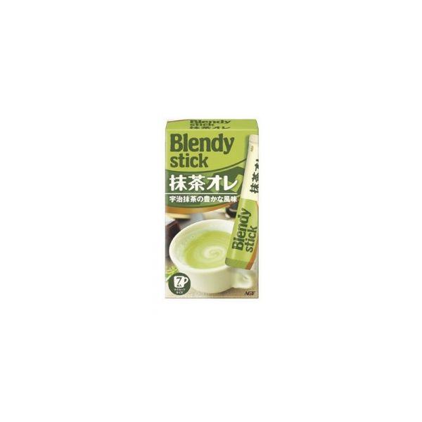 AGF BLENDY STICK 宇治抹茶咖啡棒 冷熱皆宜 7支入-詳情-圖片1
