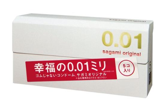 Sagami Original 0.01 Condom 5pcs-detail-image1