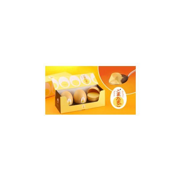 Sesame egg pudding 3 pack-detail-image1