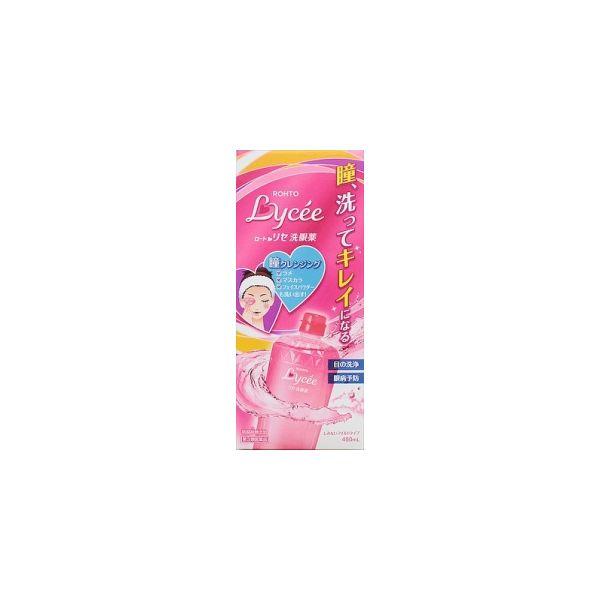Rohto Lycee Eye Wash Liquid for Cleansing & Refresh80ml/ 450ml Eye refreshing-detail-image1