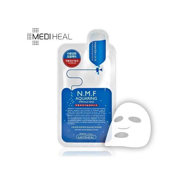 Korea N.M.F Mediheal Aquaring Ampoule Essential Mask 5sheet-detail-image1