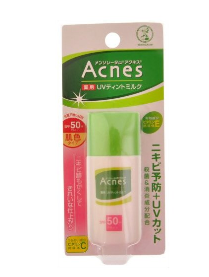 Rohto Acnes  Sunscreen Lotion Medicated UV Tint Milk 30g SPF50+ PA++-detail-image1