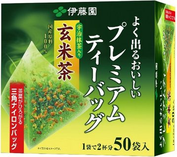 Japan Ito Park Matcha tea into the mysterious rice tea triangle 50 packets-detail-image1