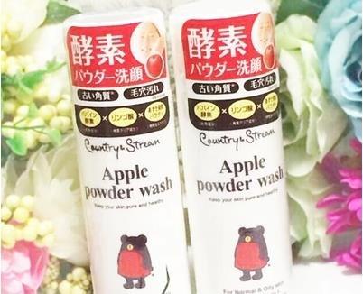 井田Country&Stream苹果酵素去黑头清洁毛孔洁面粉75g-详情-图片1