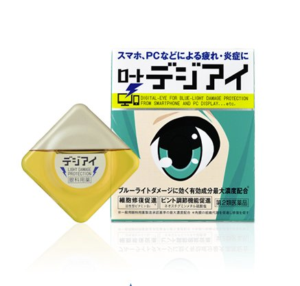 ROHTO Digieye12ml Eye drops Tired eyes due to a personal computer-detail-image1