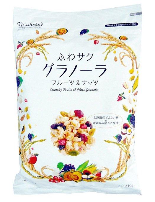 日食nisshokus北海道多種水果復合麥片240g-詳情-圖片1