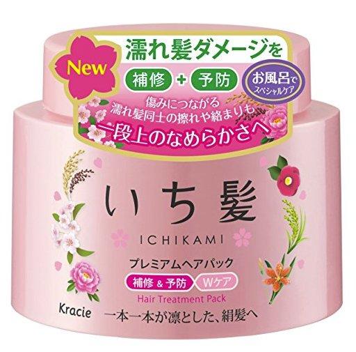 Kracie ICHIKAMI Hair Treatment Mask-detail-image1