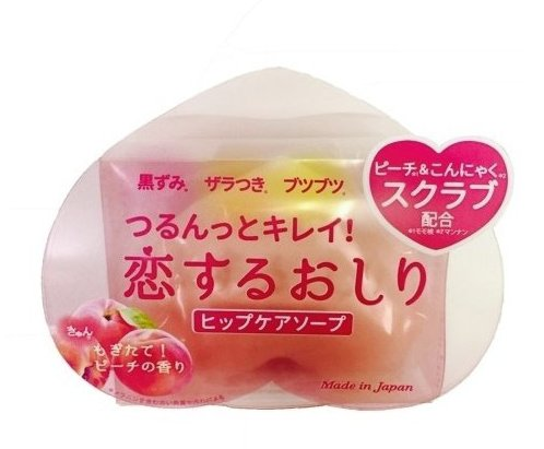 Japan Health and Personal Care - Love ass hip care Soap 80g-detail-image1