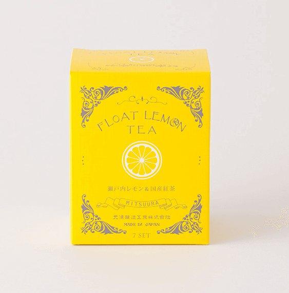 光浦醸造浮動檸檬紅茶盒 FLOAT LEMON TEA 7包入-詳情-圖片1
