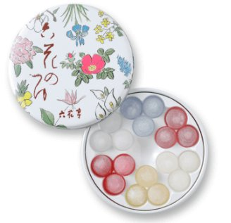 Rokkatei liqueur-filled candy-detail-image1