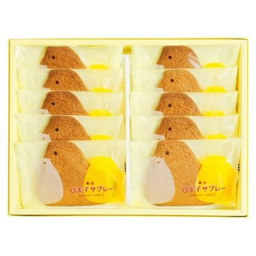 TOKYO HIYOKO ひよ子サブレー 牛奶黃油小雞外形餅干10枚裝-詳情-圖片1