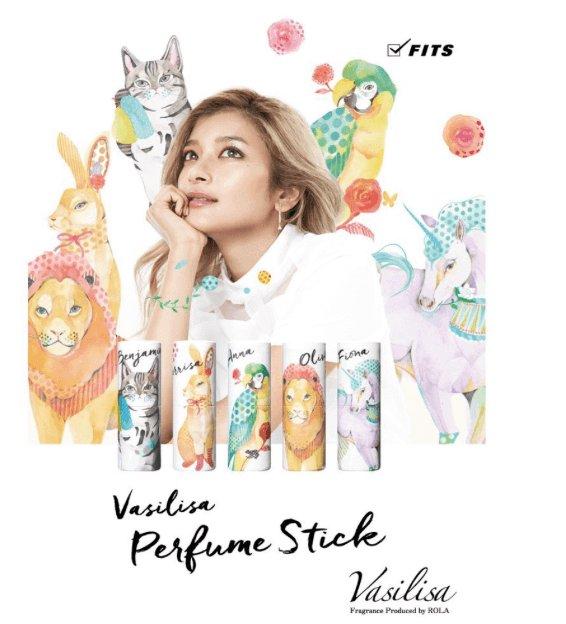 Vasilisa 可爱动物系列 清新淡雅固体魔法香水棒-详情-图片1
