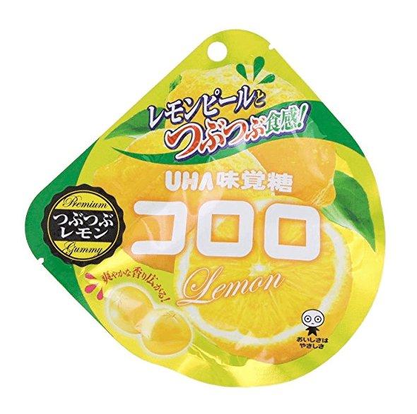 UHA味覺糖純正果汁葡萄/藍莓/草莓味果子軟糖口感神奇40g -詳情-圖片1