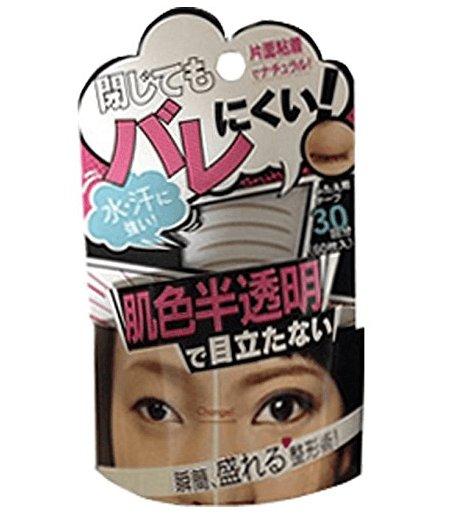 日本瞬間變臉 防汗隱形肉色超自然雙眼皮貼30對60貼-詳情-圖片1