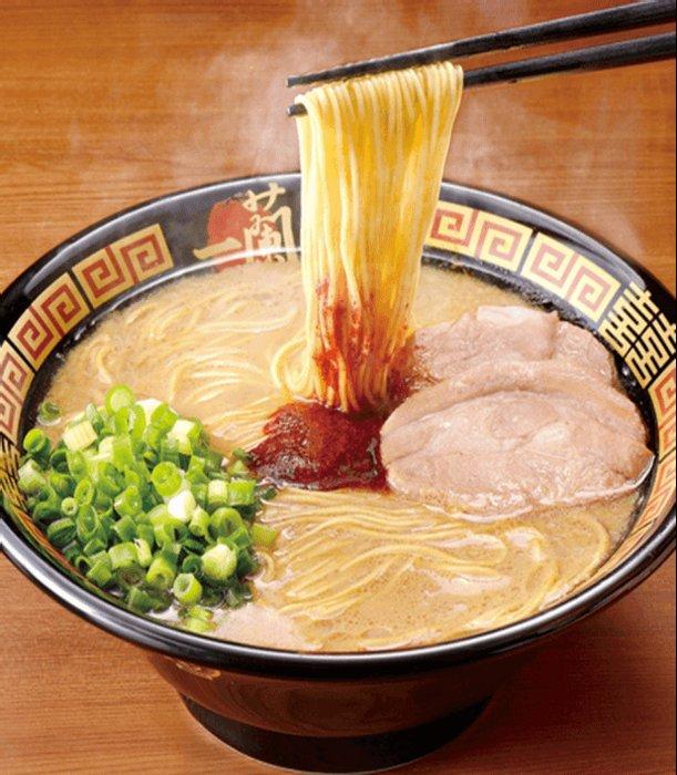 日本人气 一兰拉面原味豚骨拉面5人份/盒 细面-详情-图片1