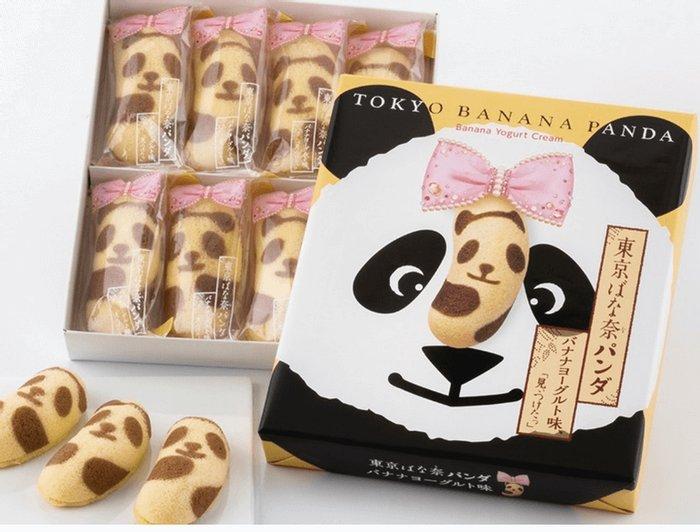 东京特产 新款东京banana熊猫小蛋糕-详情-图片1