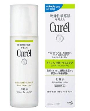 日本Curel珂润 控油保湿化妆水 抗痘控油清爽150ml 绿色-详情-图片1