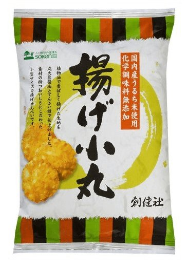 日本国产米 揚げ小丸油炸小仙贝100g-详情-图片1