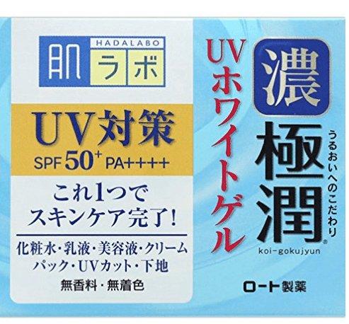 肌研 浓极润 7合一美白面霜SPF50+ PA++++ 90g-详情-图片1