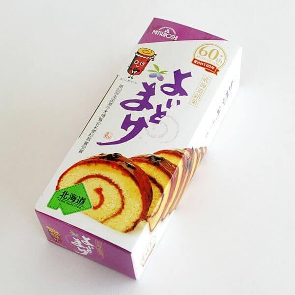 北海道三星卷筒蛋糕1条装 柔蜜口感无添加蓝靛果酱蛋糕卷-详情-图片1