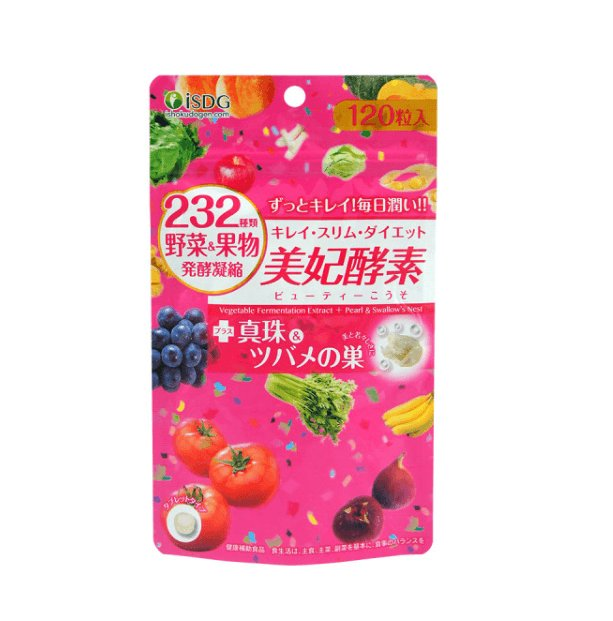isdg 美妃酵素 232種蔬菜果物發酵凝縮 120粒入-詳情-圖片1