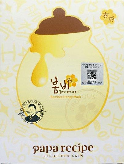 韓國Papa recipe春雨蜂蜜面膜/黑盧卡蜂蜜面膜 5枚入-詳情-圖片1