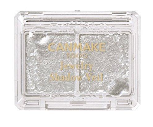 CANMAKE/井田 雙格珠光閃爍眼影盤 細閃大閃可作臥蠶雙色眼影-詳情-圖片1