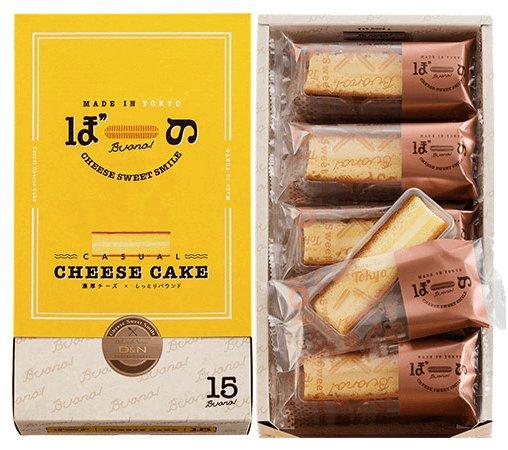 東京ぼーの東京棒濃奶酪芝士夾心蛋糕-詳情-圖片1