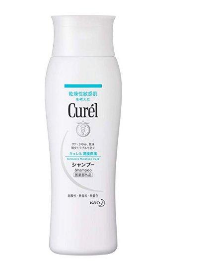 花王Curel干燥性敏感肌肤专用 洗发水200ml-详情-图片1