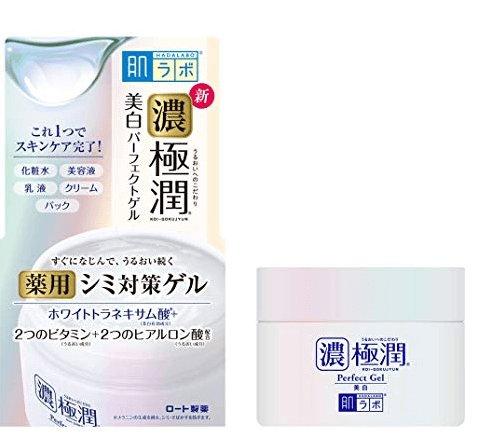 肌研浓极润五合一亮白啫喱面霜100g-详情-图片1