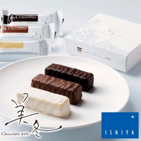 日本北海道白色戀人美冬三種口味威化-詳情-圖片1