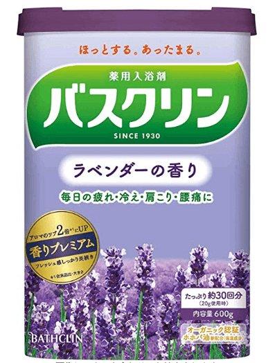 Japan Bathclin foot bath salt bath salt bath salt five flavor-detail-image1