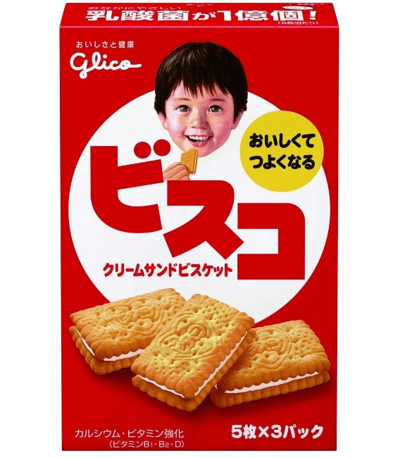 Glico BISUKO CREAM Filled COOKIES-detail-image1
