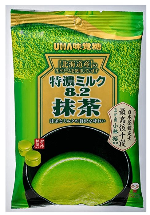 UHA Matcha Special Deep milk candy green Tea/Black tea-detail-image1