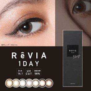 Revia 黑盒日拋美瞳10枚入14.1mm-詳情-圖片1