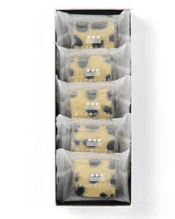 金泽万久 蕨饼年轮蛋糕黑豆味-详情-图片1