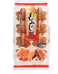 丸京制果枫叶型豆沙铜锣烧 8个入-详情-图片1