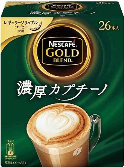 雀巢NESCAFE金牌速溶咖啡系列 原味 拿铁 卡布奇诺-详情-图片1