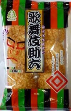 Mominoki 歌舞伎助六仙贝9枚D-详情-图片1