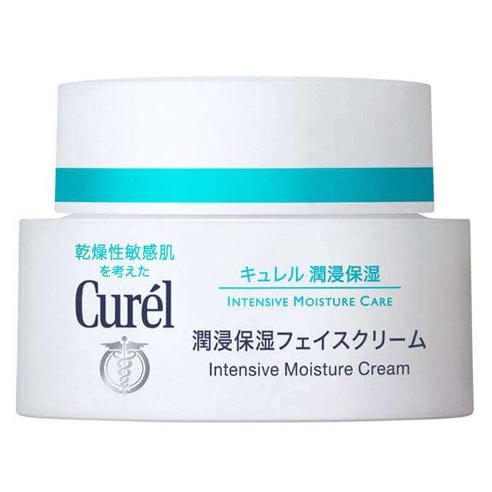 珂润Curel浸润保湿滋养面霜40g 干燥性敏感肌肤专用-详情-图片1